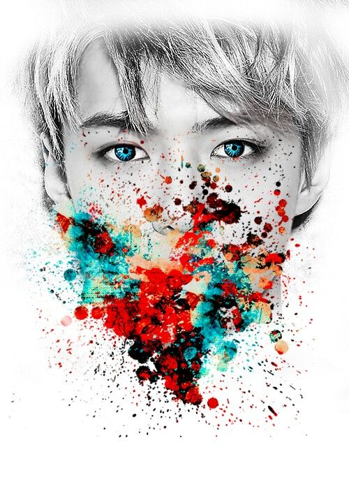 Sehun with lots of color