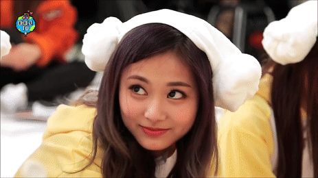Tzuyu's smile