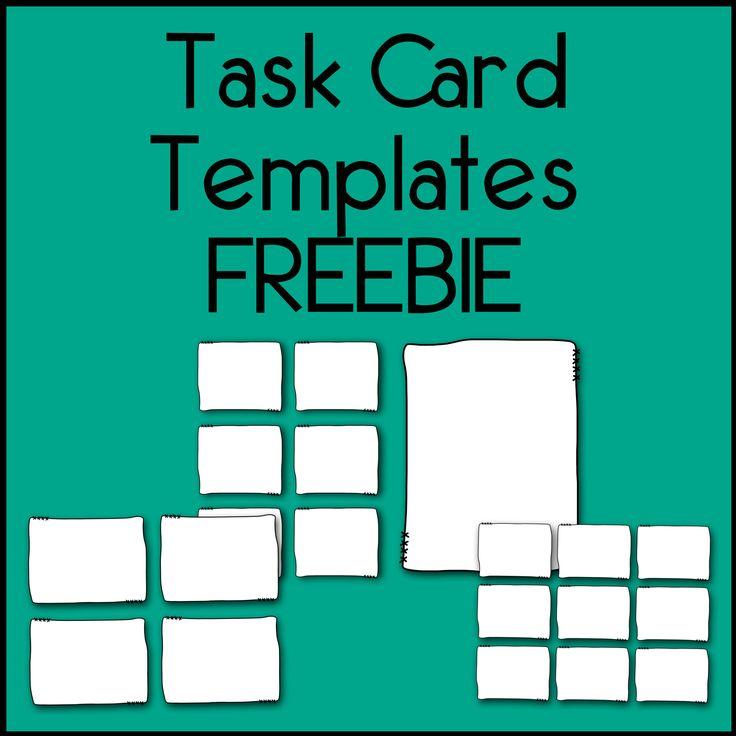 82 best TASK Cards images on Pinterest | Classroom ideas, Teaching ...