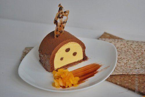 Парфэ с манго, шоколадом и бобами тонка, рецепт с фото. Домашние рецепты