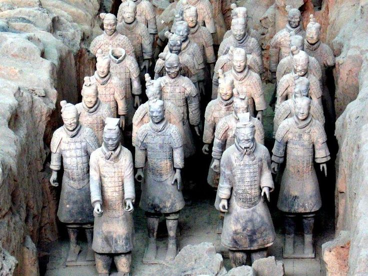 New analysis and DNA evidence suggests the 8,000 life-sized figures in emperor Qin Shi Huang's necropolis owe their inspiration to the Greeks