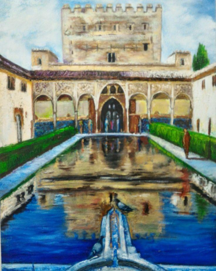 Alhamdra Art Pinterest