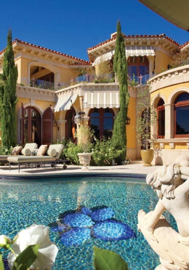 Luxury house & pool   Dream Homes, visit http://www.pinterest.com/davidos193/