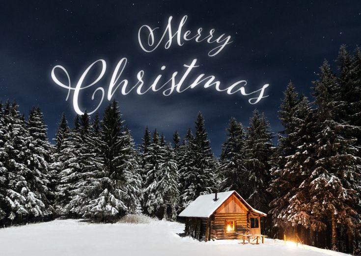 Verschneite Landschaften | Weihnachtskarten | Echte Postkarten online versenden | MyPostcard.com