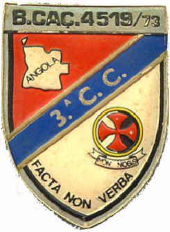 3ª Companhia de Caçadores do Batalhão de Caçadores 4519/73 Angola