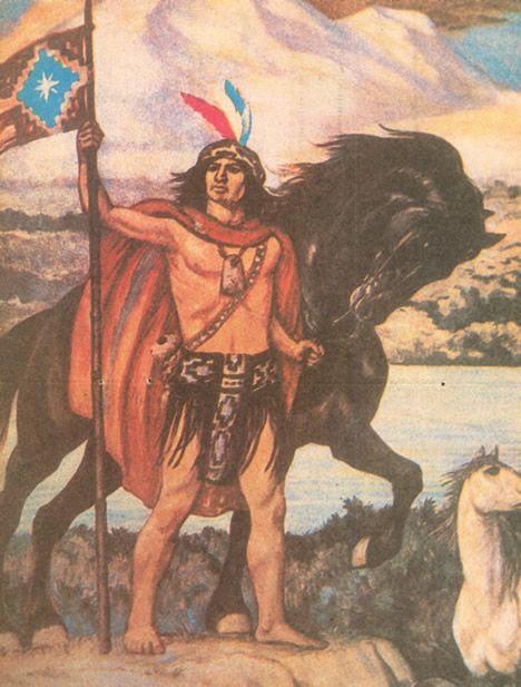 Lautaro (Felipe) of the Mapuche