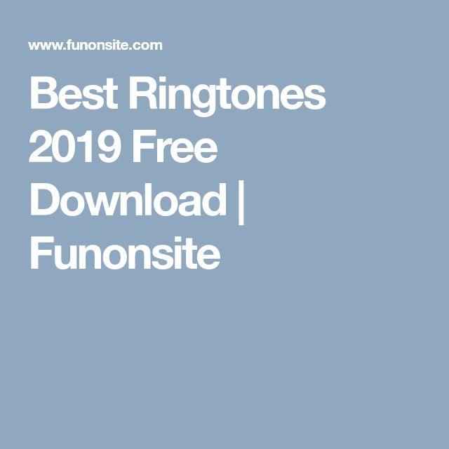 best ringtones 2019 download