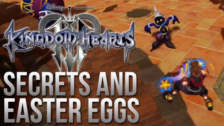 Kingdom Hearts 3 Trailer Secrets and Easter Eggs
