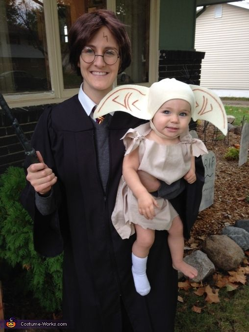 Harry Potter and Dobby - 2013 Halloween Costume Contest