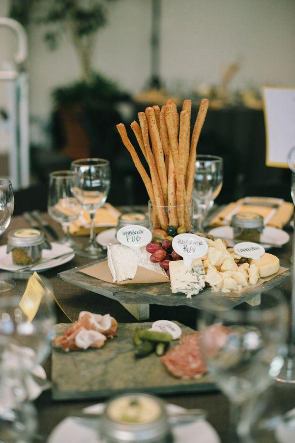 cheese spread as center piece