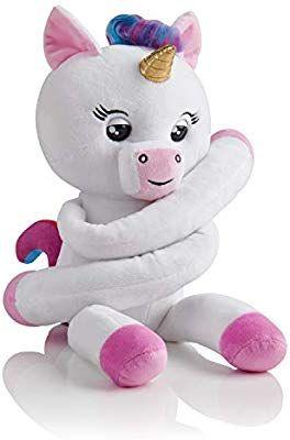 Amazon Com Wowwee Gigi White Advanced Plush Baby Unicorn Pet