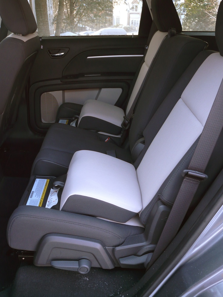 2009 Dodge Journeys built in booster seats  Automobile Magazine Blog  Products I Love  Dodge