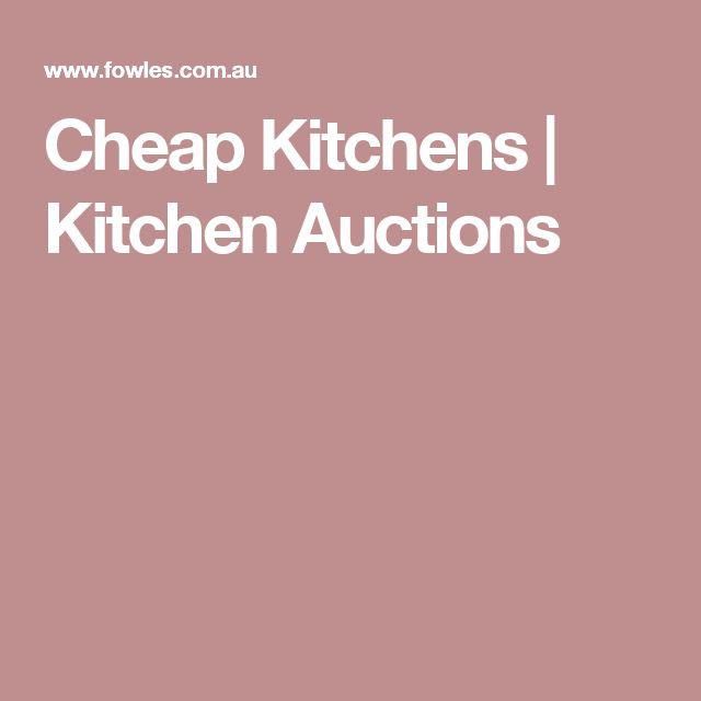 Cheap Kitchens   Kitchen Auctions
