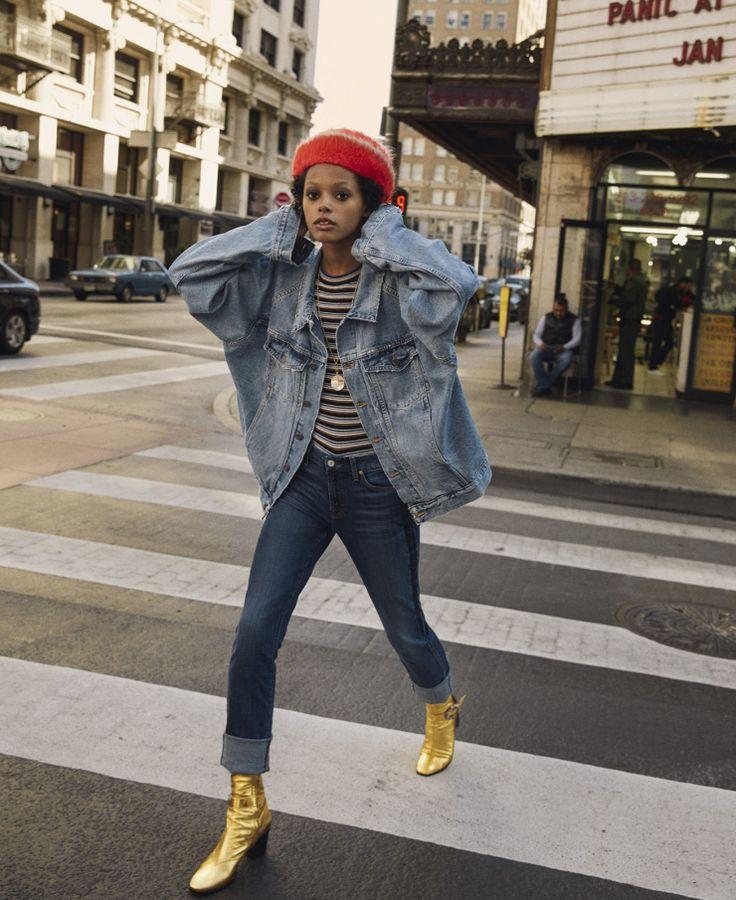 Elle US May 2016 Model: Londone Myers Photographer: Yelena Yemchuck Fashion Editor: Samira Nasr