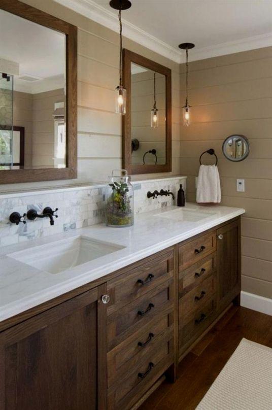 25 farmhouse small bathroom remodel ideas page 7 of 26 rh pinterest com