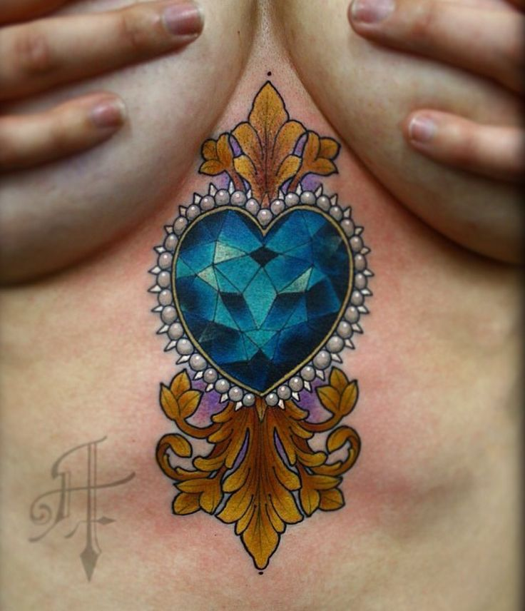 25 best ideas about diamond heart tattoos on pinterest cool couple tattoos awesome tattoos. Black Bedroom Furniture Sets. Home Design Ideas