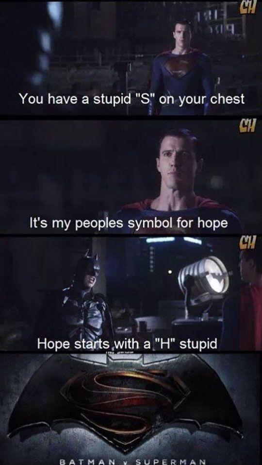 Batman vs Superman, I guess that solves it.