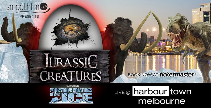 Jurassic Creatures is coming to Harbour Town. Travel back to the Ice Age with your budding paleontologists. Click through to win a family pass! #giveaway #schoolholidays #melbourne #melbourneforkids #dinosaurs #dinosaur #jurassic #jurassiccreatures