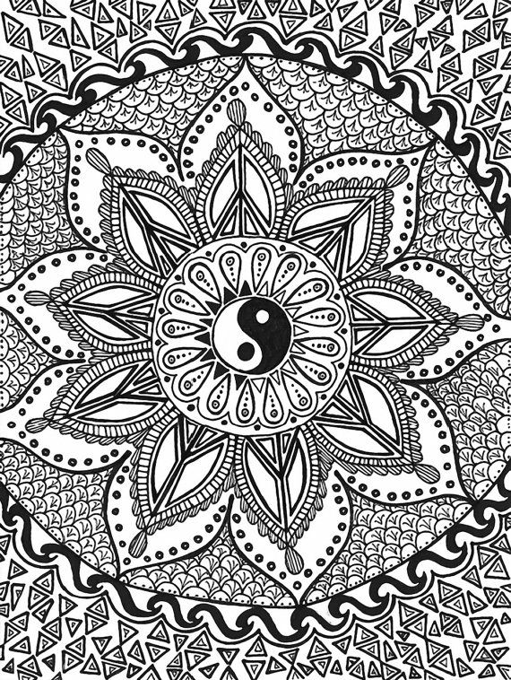 315 best trippy psychedelic coloring pages images on
