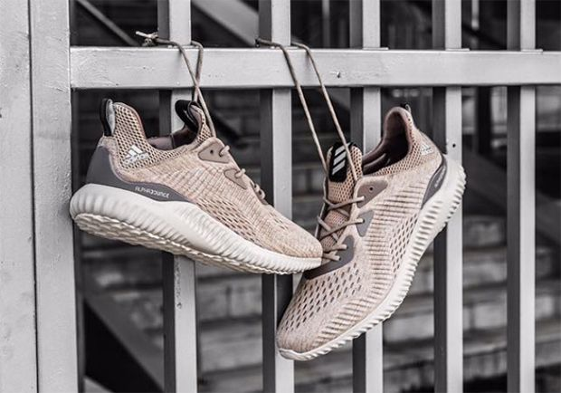 adidas Alphabounce Oatmeal Detailed Photos   SneakerNews.com   Sneakers,  Adidas, Fly shoes