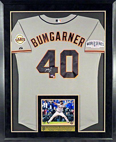 San Francisco Giants Autographed Jerseys