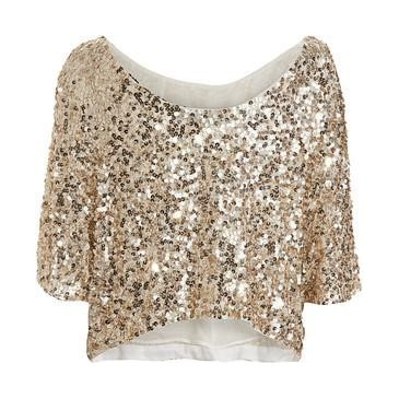 Love this! So sparkly, perfect for a night out or NYE!