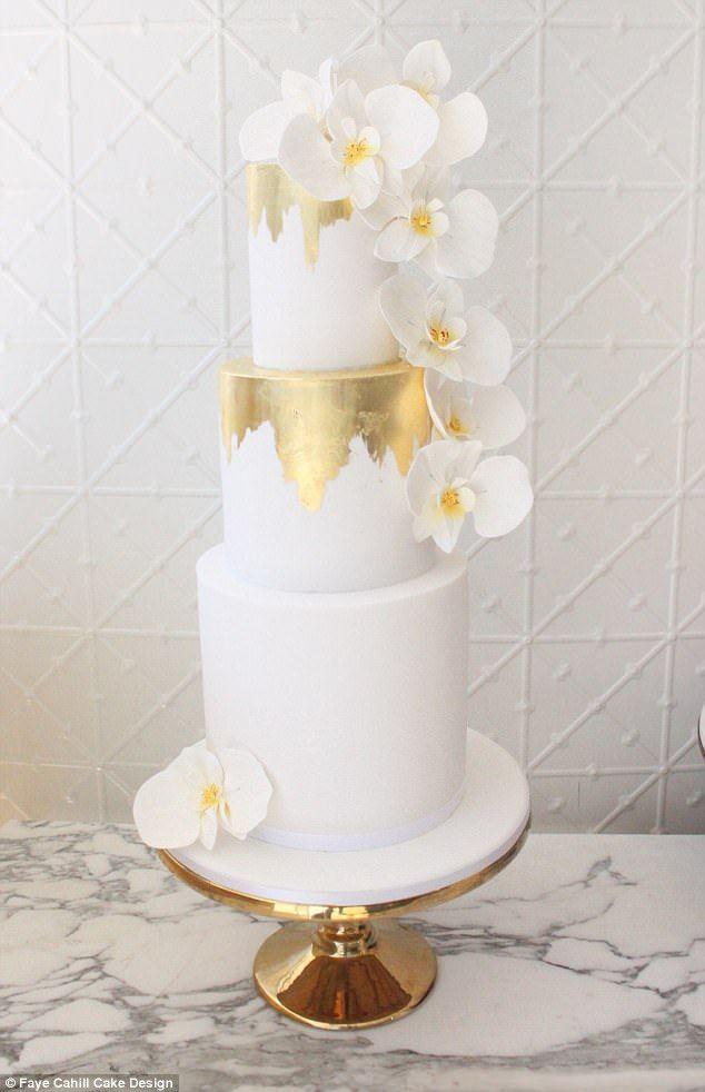 Wedding Cake Designer Reveals The Top Trends For 2018 2018 Wedding