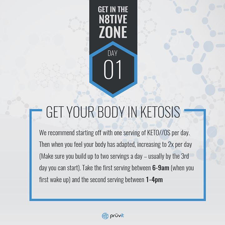 Day 1 of 8 for the N8tive challenge. Keto on.. Orders yours today and start the challenge at www.jzapata.pruvitnow.com