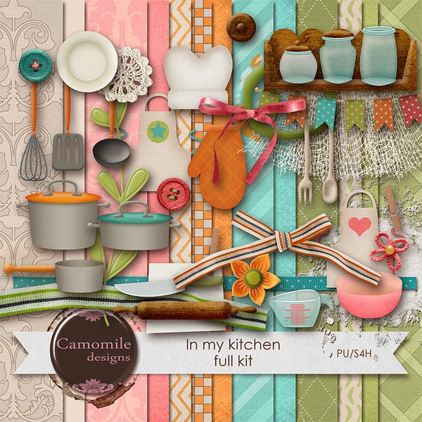 17 Best Images About Cooking Scrapbooking Kits On