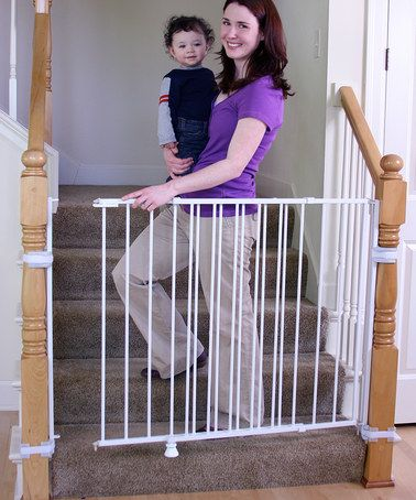 Take A Look At This White Extra Tall Top Of Stairs 2 In 1