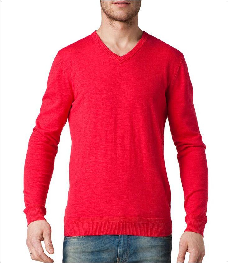 #brandpl #sweter #czerwony