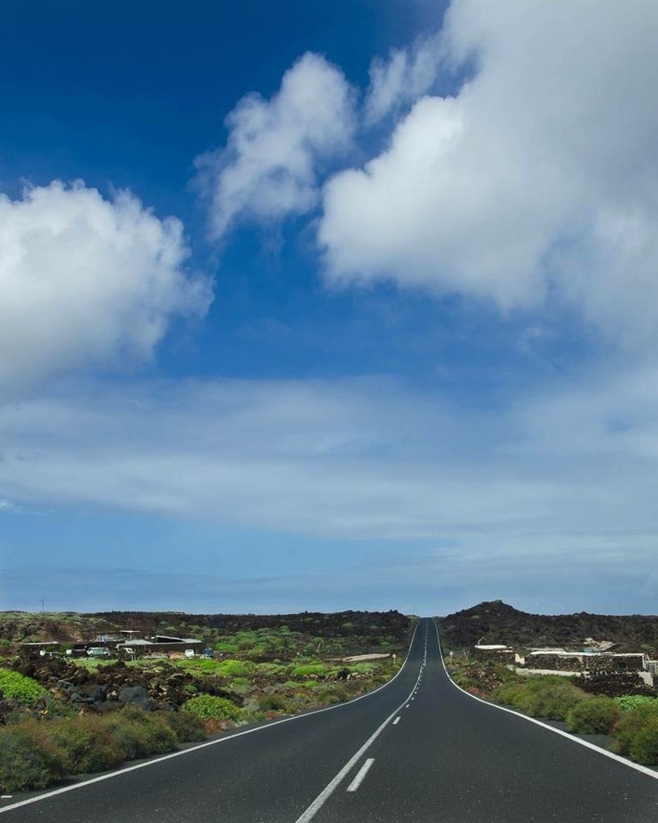 #Orzola, #lanzarote #canaryisland  The road to paradise