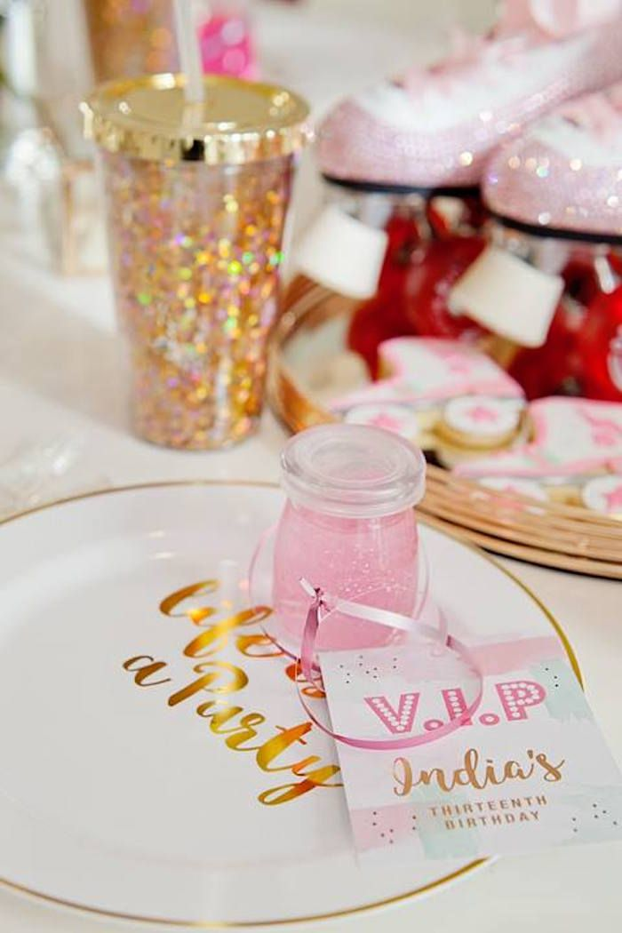 Favors from a Floral Disco Party by Little big company on Kara's Party Ideas | KarasPartyIdeas.com (7)