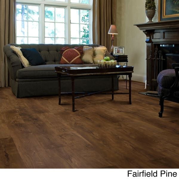 Shaw Industries Woodford Crimson Faux Wood Laminate Flooring 26 4 Sq Ft