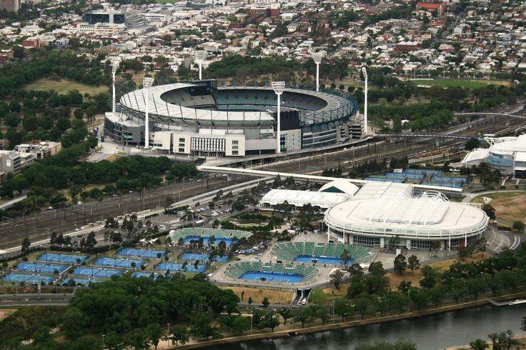 MCG and Tennis Centre
