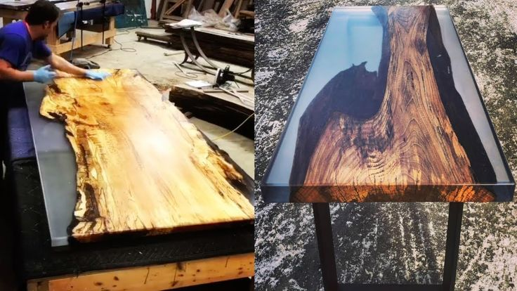 10 Awesome Epoxy Resin Table Top DIY Woodworking C…