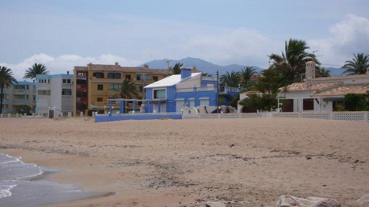 Beach at Denia