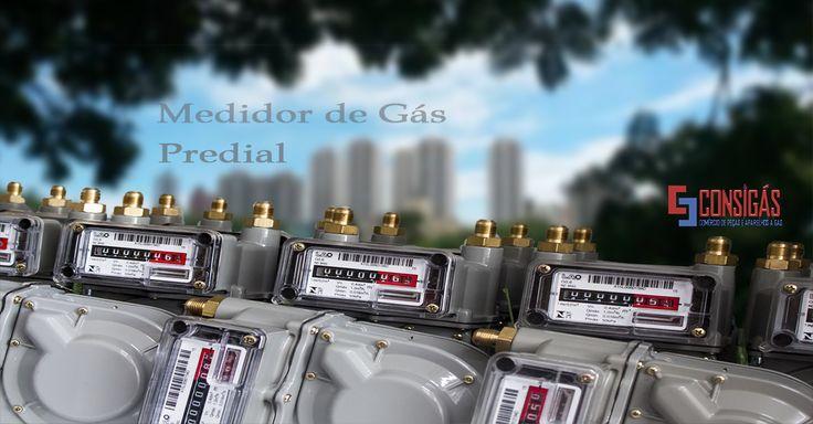 #consigaspecas - Medidor de Gás Predial, tem na www.consigaspecas.com.br