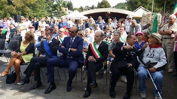 Durante la manifestazione è stato inaugurato il monumento dedicato alle sei Medaglie d'Oro alla Memoria della I Zona Liguria: Roberto di Ferro, Silvio Bonfante, Felice Cascione, Franco Ghiglia, Mario Rossi, Sergio Sabatini.
