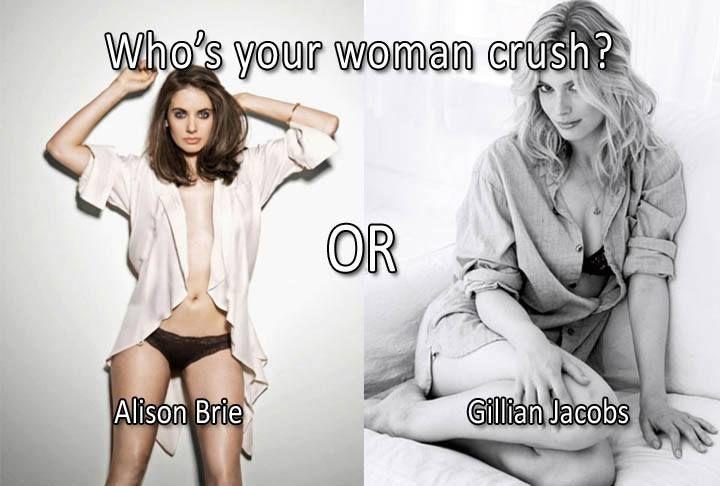 Alison Brie vs Gillian Jacobs