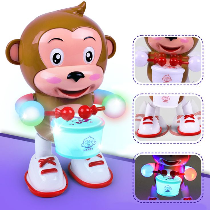 Clockwork Wind Up Dancing Robot Toy for Baby Kids Developmental Gift Puzzle Toys