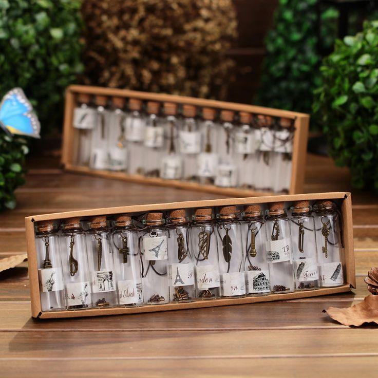 Ucuz Yaratıcı hediyeler sevimli mini temizle cam cork stopper dileğiyle şişeler şişeler kavanoz konteynerler küçük vintage süsler zanaat dekorasyon, Satın Kalite cam el sanatları doğrudan Çin Tedarikçilerden: Malzeme: şeffaf camşişe boyutu: 7*2cm12pcs/box, ağırlığı: 270g