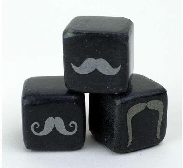 These Icon Whiskey Stones are Perfect for the Most Macho of Drinkers trendhunter.com