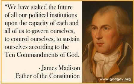 FAKE. No such quote has ever been found among any of James Madison's writings. None of the biographers of Madison, past or present have ever run across such a quote, and most if not all would love to know where this false quote originated. http://candst.tripod.com/misq1.htm