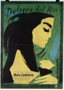 Maria Candelaria, Polish Movie Poster