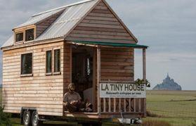 LA TINY HOUSE : 1er constructeur Français de Tiny Houses en France - Maison écologique sur roues - Habitat écologique - Ossature bois | Avranches - Pontorson - Manche - Normandie |