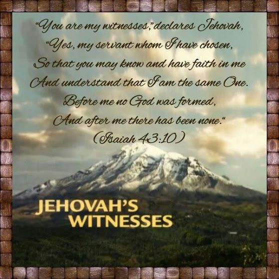 What Do Jehovah's Witnesses Believe? http://www.jw.org/en/jehovahs-witnesses/faq/jehovah-witness-beliefs/