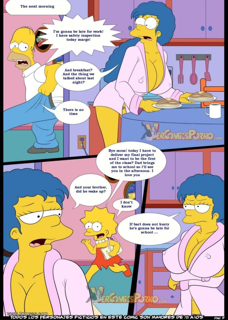 Xxx Simpsons Comics