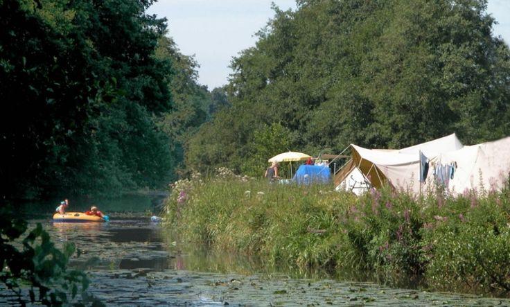 natuurcamping > Camping De Roos aan de Overijsselse Vecht (Beerze-Ommen)