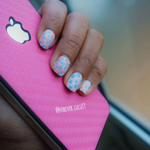 Simple Nail art - P2 nagellack